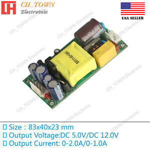 Double Road 5V 12V 20W Switching Power Supply Buck Converter Step Down Module