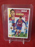Ronald Araujo Barcelona Liga Este 2020/21 Panini Rookie Sticker