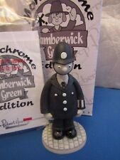 ROBERT HARROP PC McGARRY POLICEMAN LIMITED TRUMPTON  MONOCHROME CAMBERWICK GREEN