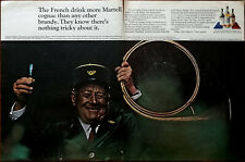 Martel The French Drink More Martell Cognac Vintage Advertisement 1966