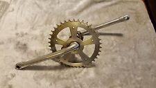 OLD SCHOOL BMX CHROMOLY 175mm TAKAGI CRANKS WITH 39 TOOTH SCHWINN GEAR