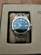Brand New MAURICE LACROIX AIKON GENTS AI1008-SS002-330-1 Black Dial Men`s Watch