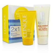 Summer In Clinique Set: Deep Comfort Body Wash + After Sun Rescue Balm 200ml