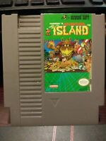 Adventure Island - Nintendo Entertainment System NES Vintage Cartridge
