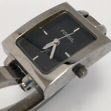 FOSSIL Ladies Metal Rectangular Face Watch With 12 Hour Analog Dial 33203