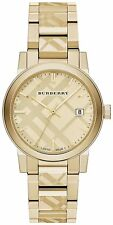 Brand New BU9038 The City Gold Dial Stainless Steel Case Watch