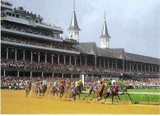 REAL QUIET,THOROUGHBRED RACE HORSE KENTUCKY DERBY, 1998  POSTCARD, MINT!