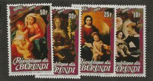 BURUNDI SC# 607-10 MNH STAMPS