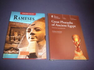 Teaching Co Great Courses  DVDs    GREAT PHARAOHS of ANCIENT EGYPT new + bonus