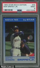 1992 Star Nova Edition Ken Griffey Jr Mariners HOF PSA 9 MINT POP 6 NONE HIGHER