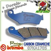 07KA1705 Pastillas Brembo Carbono Delanteros Honda Crf Easy 230 2008>