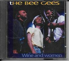 CD COMPIL 14 TITRES--THE BEE GEES--WINE AND WOMEN