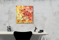 Wandbild Original Abstrakt Acrylmalerei Gemälde 50 x 50 Unikat Art. Nr. 807