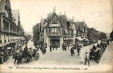 La Plage Fleurie, Rues de l'Ecluse et du Casino, Deauville France