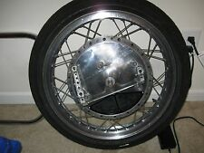 Yamaha TZ TD 4 leading shoe front brake wheel
