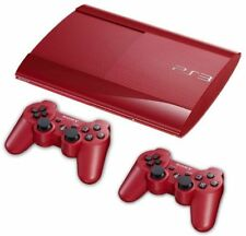 Playstation 3 Super Slim Console 500GB - Red Very Rare