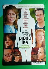 THE PRIVATE LIVES OF PIPPA LEE WRIGHT RYDR MINI POSTER BACKER CARD (NOT a movie)