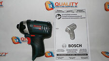 "New Bosch PS41 12V Max Li-Ion Cordless 1/4"" Hex Impact Driver - Bare Tool"