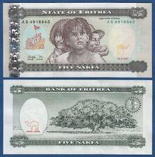ERITREA 5 Nafka 1997 UNC   P.2