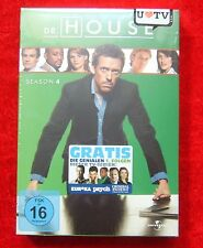 Dr. House Die komplette Staffel 4, DVD Box Season, Neu