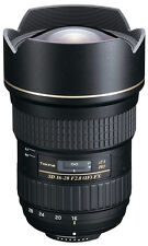 Tokina 16-28MM F2.8 AT-X PRO FX For Canon DSLR. U.S. Authorized Dealer