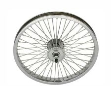"BICYCLE 16"" STEEL FRONT WHEEL W/ 52 SPOKES BEACH CRUISER LOWRIDER BMX MTB"