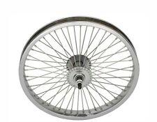 "Bicycle 16"" Steel Front Wheel W/ 68 Spokes Cruiser Lowrider BMX MTB Bikes"