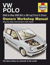 Haynes Manual De Taller Para VW Polo Gasolina & Diesel (02-05)
