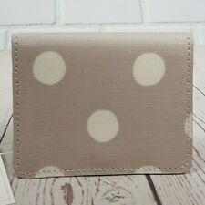 Cath Kidston Card Purse Wallet Button Sport Fawn Colour New with Tag