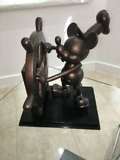 Disney MICKEY MOUSE Steamboat Willie BIG FIG Large statue WDW Production Sample