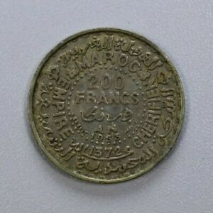 200 Francs From Morocco 1953 Silver