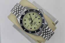 Tag Heuer 980.113 Night Diver Lume 1000 Professional Watch Mens Silver Jubilee