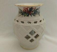 Lenox Winter Greetings Fragrance Tart Warmer Votive Candle Holder Wax Warmer