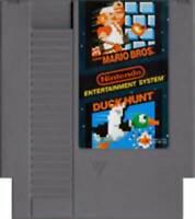 Super Mario Brothers & Duck Hunt - NES Nintendo Game