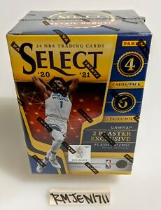 Panini Select 2020-21 Panini Select NBA basketball cards blaster box *READ*