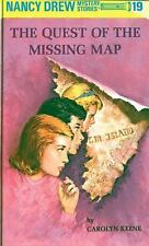 Quest of the Missing Map - Carolyn Keene - Nancy Drew 19 - lost buried treasure