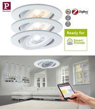 Paulmann SmartHome Zigbee 3.0 EBL-Set LED Lens 3x3,5W Tunable White App Steuern
