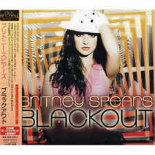 New BRITNEY SPEARS Blackout Japan Edition (Bonus track x 4)CD From JAPAN