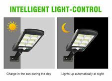 LED Solar Wall Light PIR Motion Sensor Dimmable Lamp Outdoor Garden Street pp