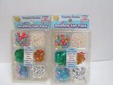 (2) Beading Fun Pack - Tropical Garden - Each Makes 8 Bracelets Bead Kit