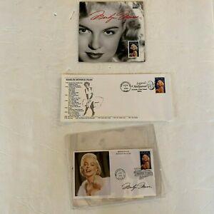 Marilyn Monroe Universal City 1995 Envelopes & USPS Folio ~ Set of 3 items