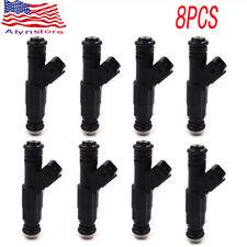 8X Fuel Injectors fit Chevrolet 7.4 454 GM UPGRADE 2500 3500 1996-00 0280155703
