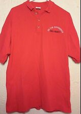"""Wal-Mart """"Be the Difference"""" Polo Shirt - Sz: L - Red - Retail Store - Official"""