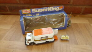 Matchbox Superkings K-19 Security Truck - Group 4 Security - Boxed