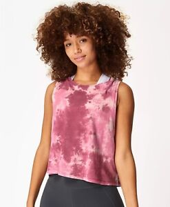 Sweaty Betty Pink Tie Dye Swing Vest (S/BNWOT)
