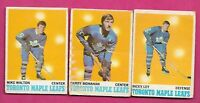 1970-71 OPC TORONTO MAPLE LEAFS  CARD LOT (INV# C2818)