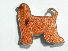 Afghan Pin Badge Dog Pin