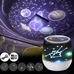 Galaxy Starry Night Lamp LED Star Projector Baby Kid Night Light Projector UK