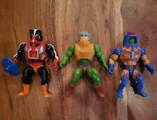 Motu He-Man 1981 Stinkor & Man At Arms 1982 Man E Faces
