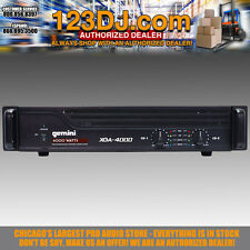 Gemini XGA-4000 Professional Power Amplifier 4000W Rack PA Amp XGA4000